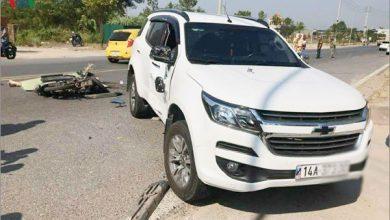 quảng ninh: Ô tô đâm trực diện xe máy khiến 1 người tử vong