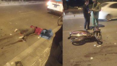 Hà Nội: Va chạm với ô tô tải, nam shipper đi xe máy tử vong sau thương tâm 1