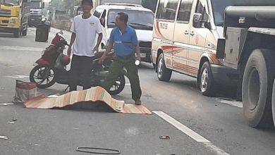 Xe khách tông mô tô, nữ sinh lớp 8 tử vong 1