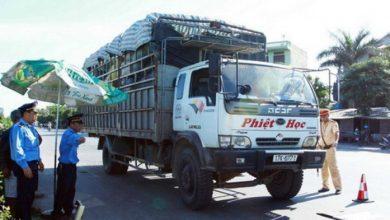Hà Nội xử lý hơn 2.000 xe tải vi phạm, phạt 7 tỷ đồng 1