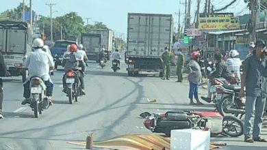Nữ công nhân ở Vĩnh Long bị xe tải tông tử vong thương tâm 1