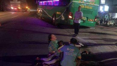 Xe khách tông xe đạp điện, một nữ học sinh lớp 7 tử vong thương tâm 1
