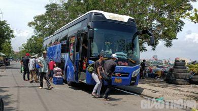 Xe khách Quảng Ngãi - Đà Nẵng lập
